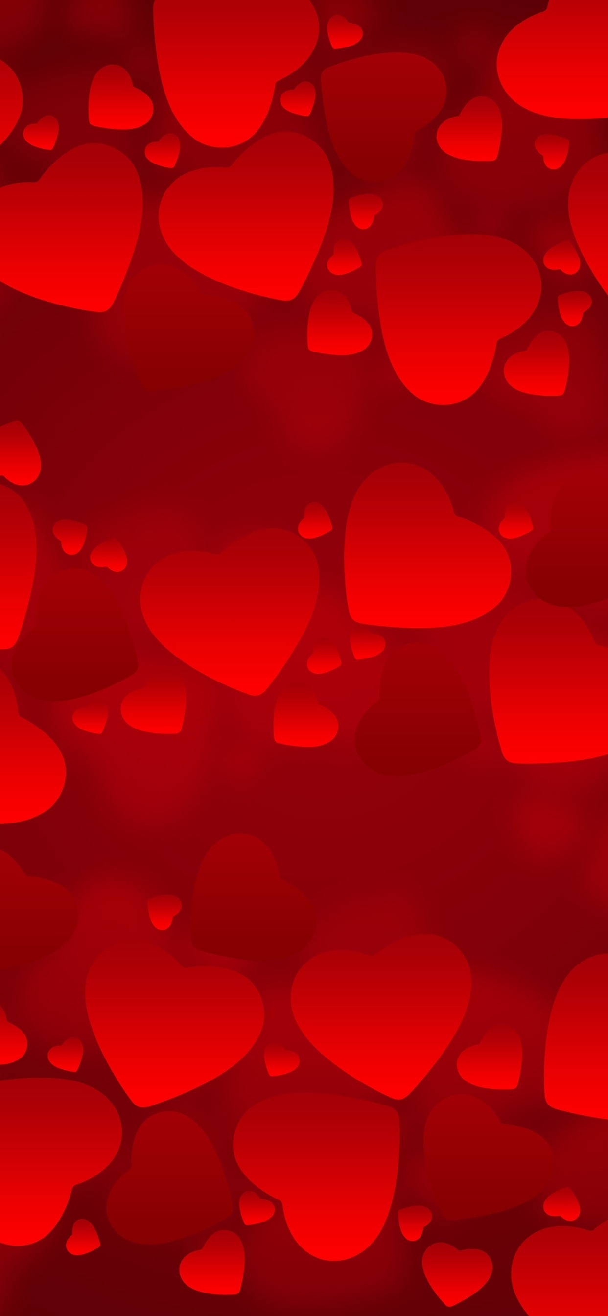 Iphone Wallpaper Many Red Love Hearts Romantic Background Hearts Background 1242x2688 Wallpaper Teahub Io