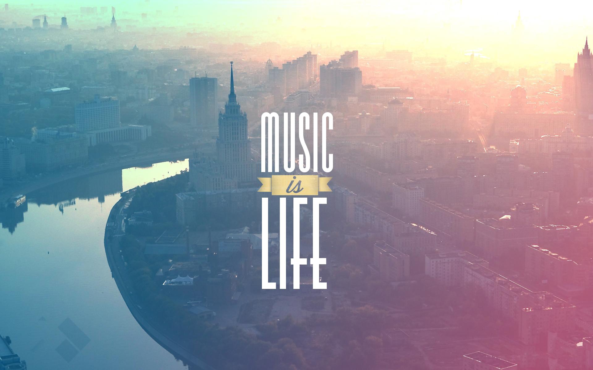 Music Is Life Wallpaper Hd - HD Wallpaper