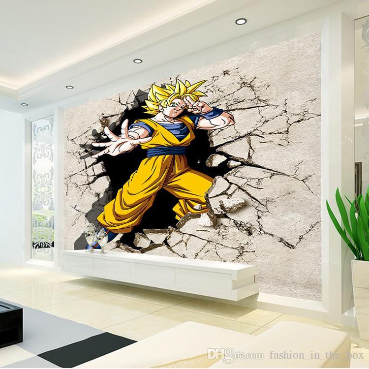 Dragon Ball Photo Wallpaper 3d Anime Wall Mural Custom - Dragon Ball Z Wall Murals - HD Wallpaper
