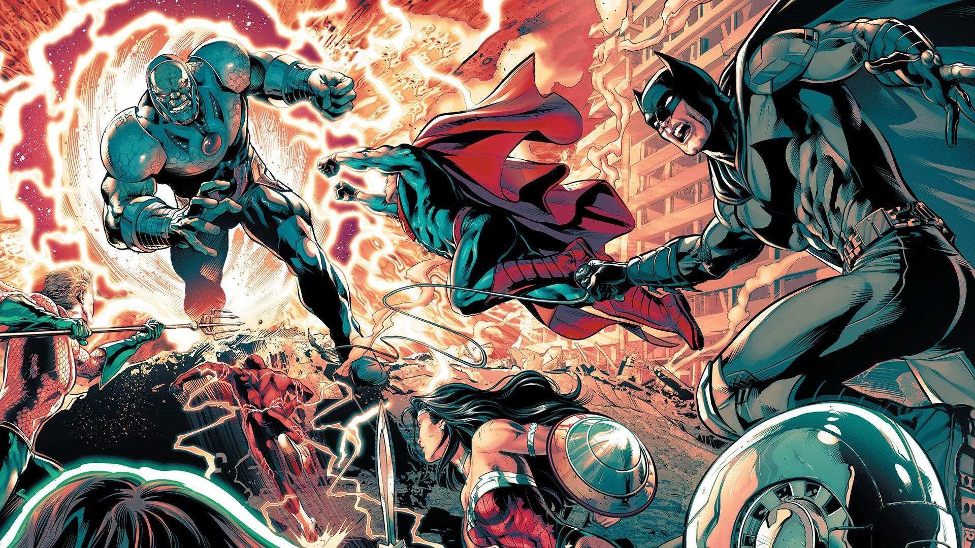 1920x1080, Comics - Justice League Vs Darkseid Comic - HD Wallpaper