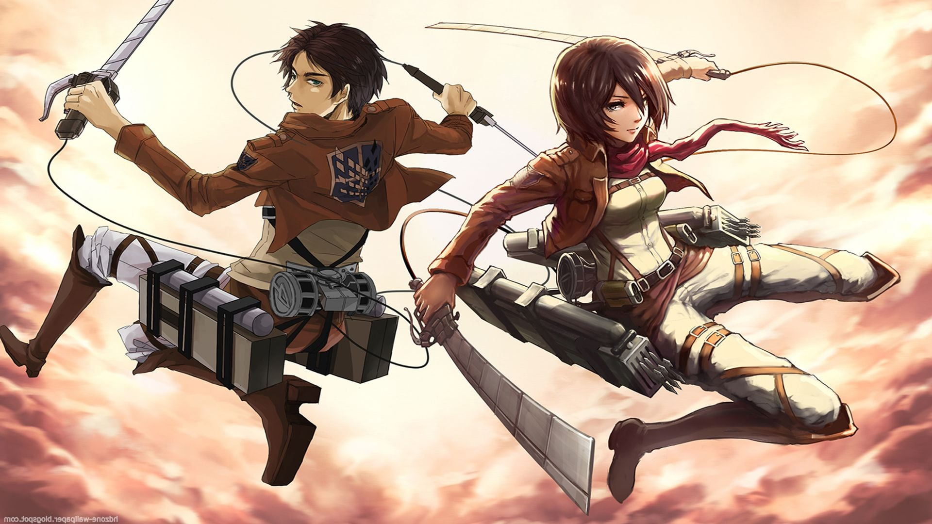 Attack On Titan Hd Wallpapers Desktop Wallpaper 1920x1080 Wallpaper Teahub Io