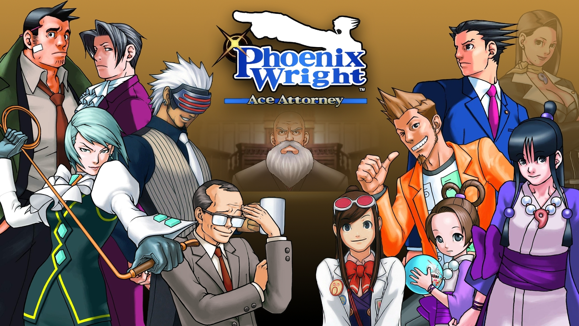 Wallpaper Phoenix Wright Ace Attorney 1920x1080 Wallpaper