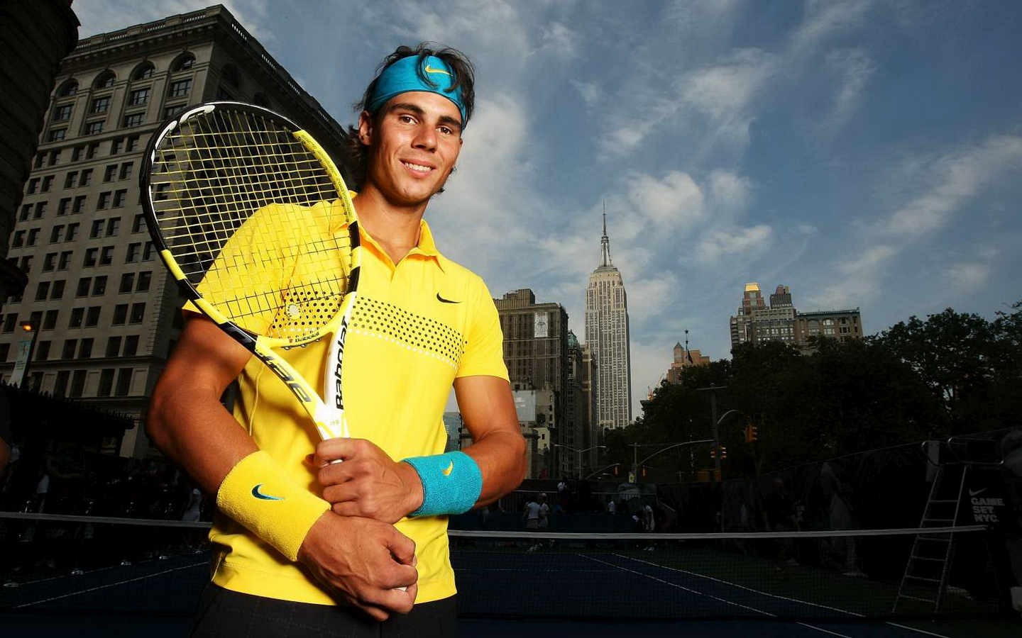 Rafael Nadal Hd Wallpaper Empire State Building 1440x900 Wallpaper Teahub Io