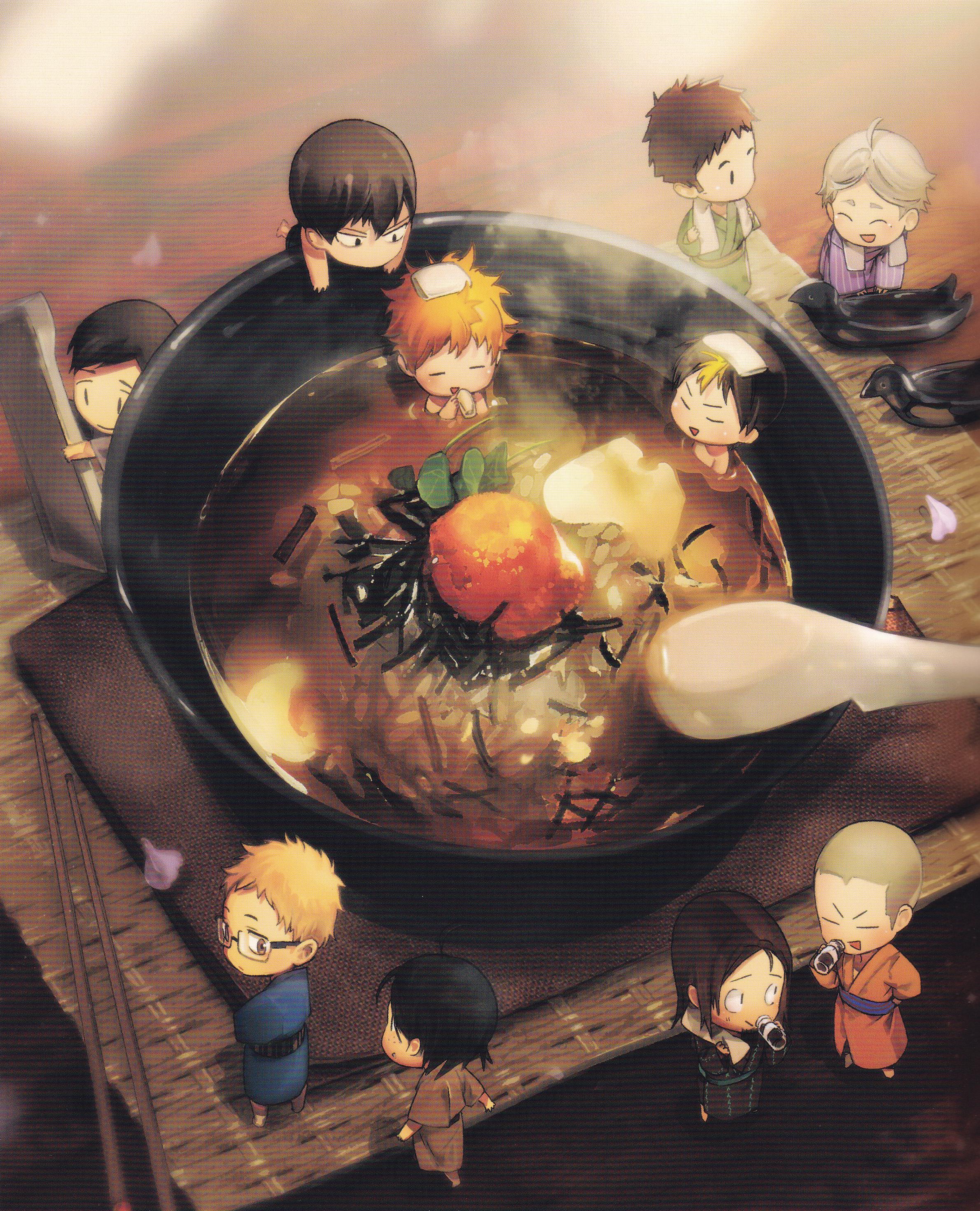 Haikyuu - Haikyuu Food Illustration Book - HD Wallpaper