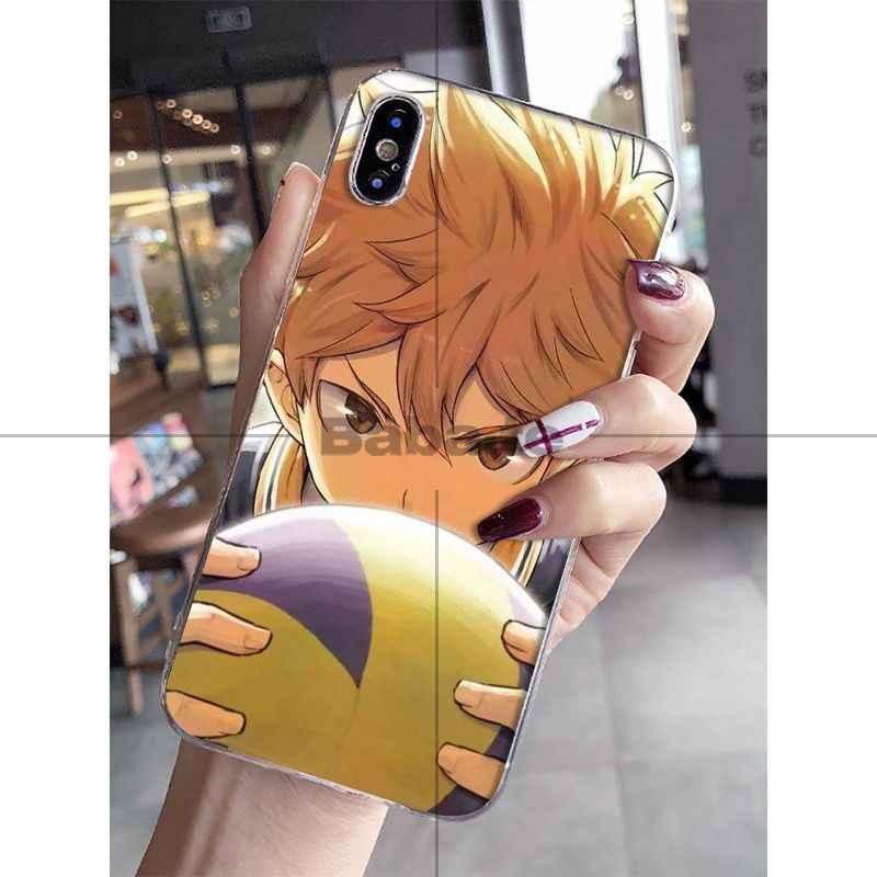 Babaite Haikyuu Hinata Attacks Anime Lovely Phone Accessories - Haikyuu Clear Wallpapers Iphone - HD Wallpaper