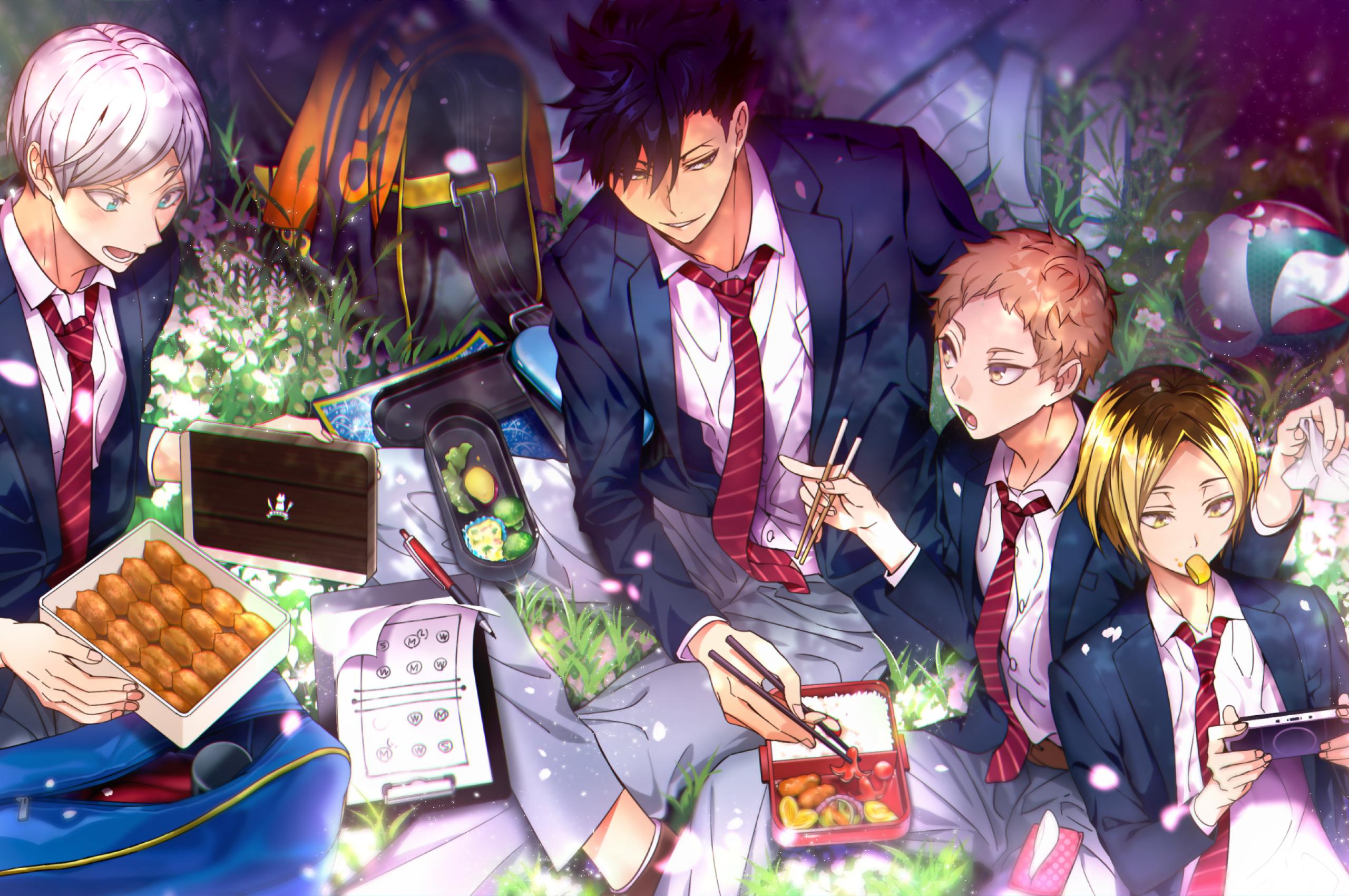 Haikyuu, Tetsurou Kuroo, Kenma Kozumeshoujo, Anime - Kuroo Tetsurou Wallpaper Hd - HD Wallpaper