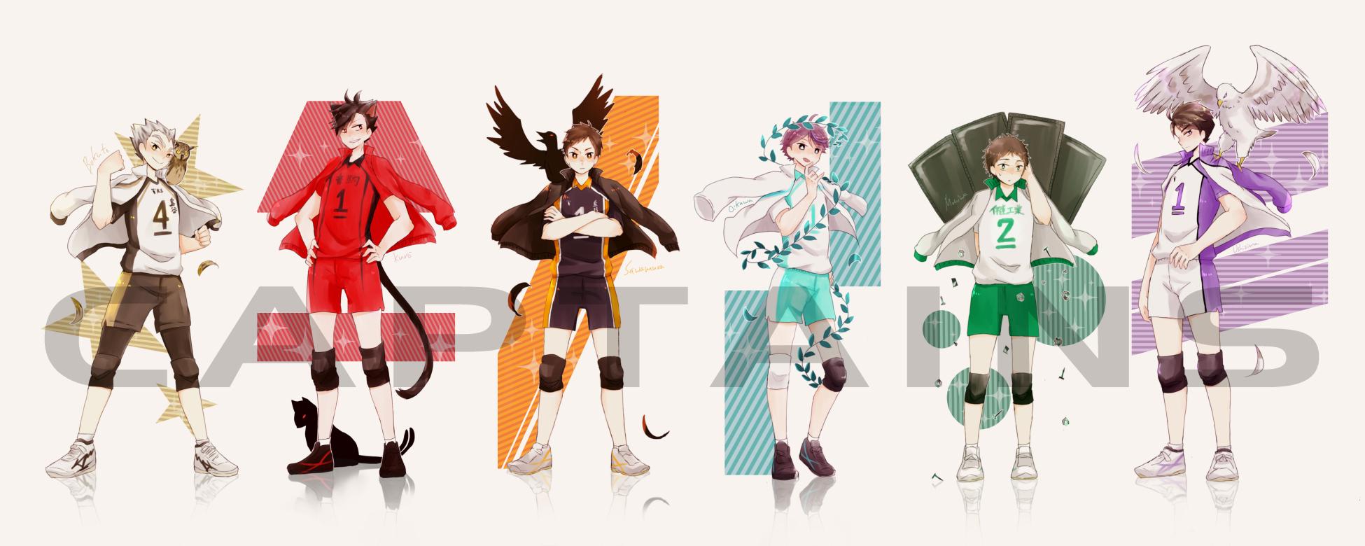 Shiratorizawa Haikyuu - HD Wallpaper