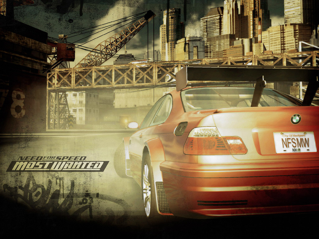 Need For Speed Most Wanted 2005 Red Bmw M3 Gtr 1024x768 Wallpaper Teahub Io
