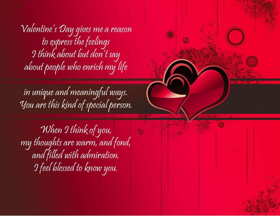 Valentines Day Quotes For Him/her Husband Boyfriend - Reason Of