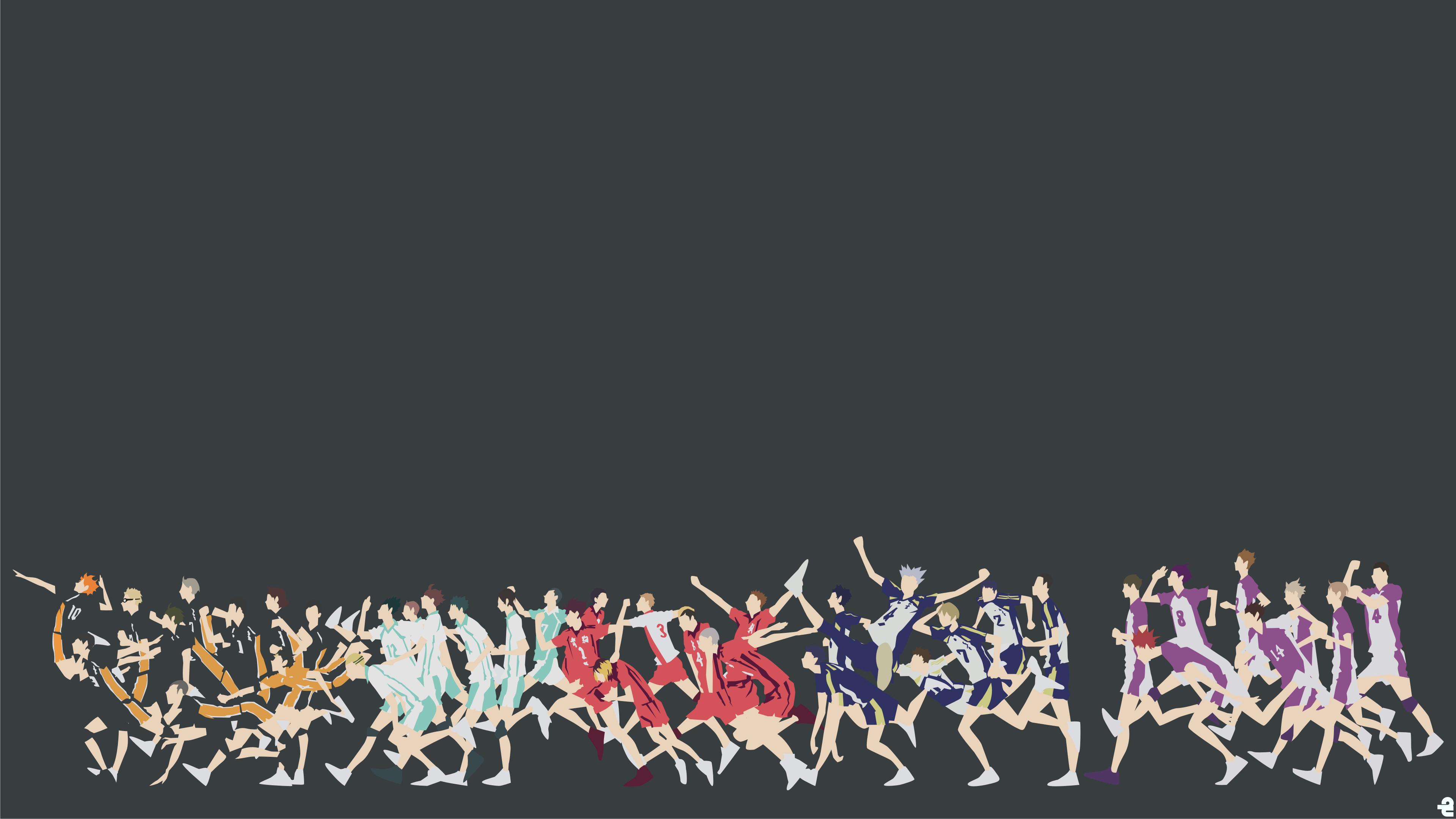 Haikyuu 4k Background - HD Wallpaper