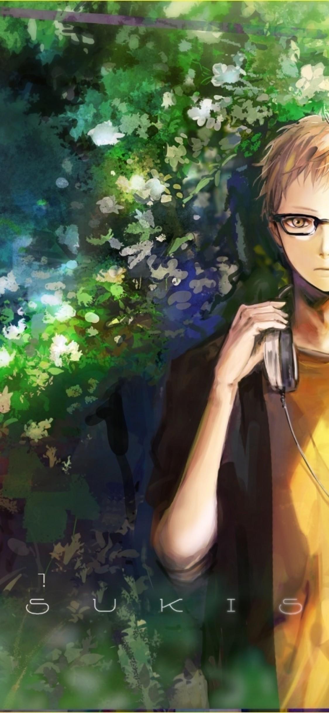 Tsukishima Kei, Blonde, Haikyuu, Glasses - Tsukishima Wallpaper Hd - HD Wallpaper