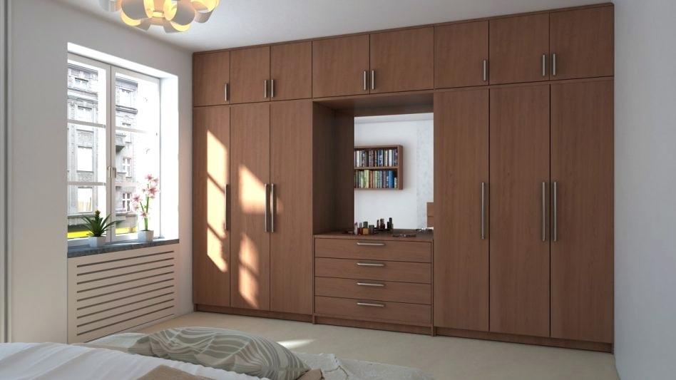 Master Bedroom Wardrobe Design - HD Wallpaper