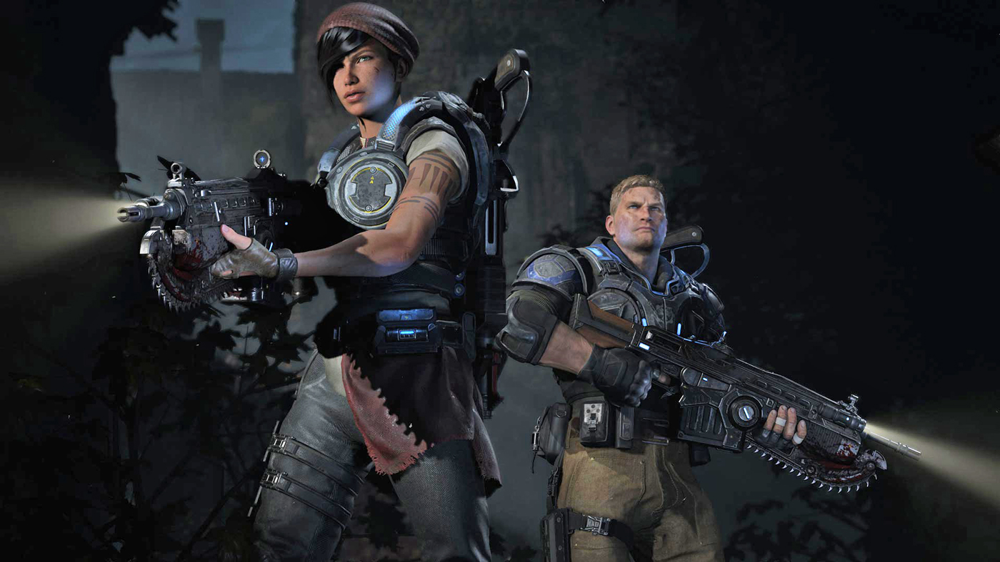 Gear Of Wars 4 - HD Wallpaper