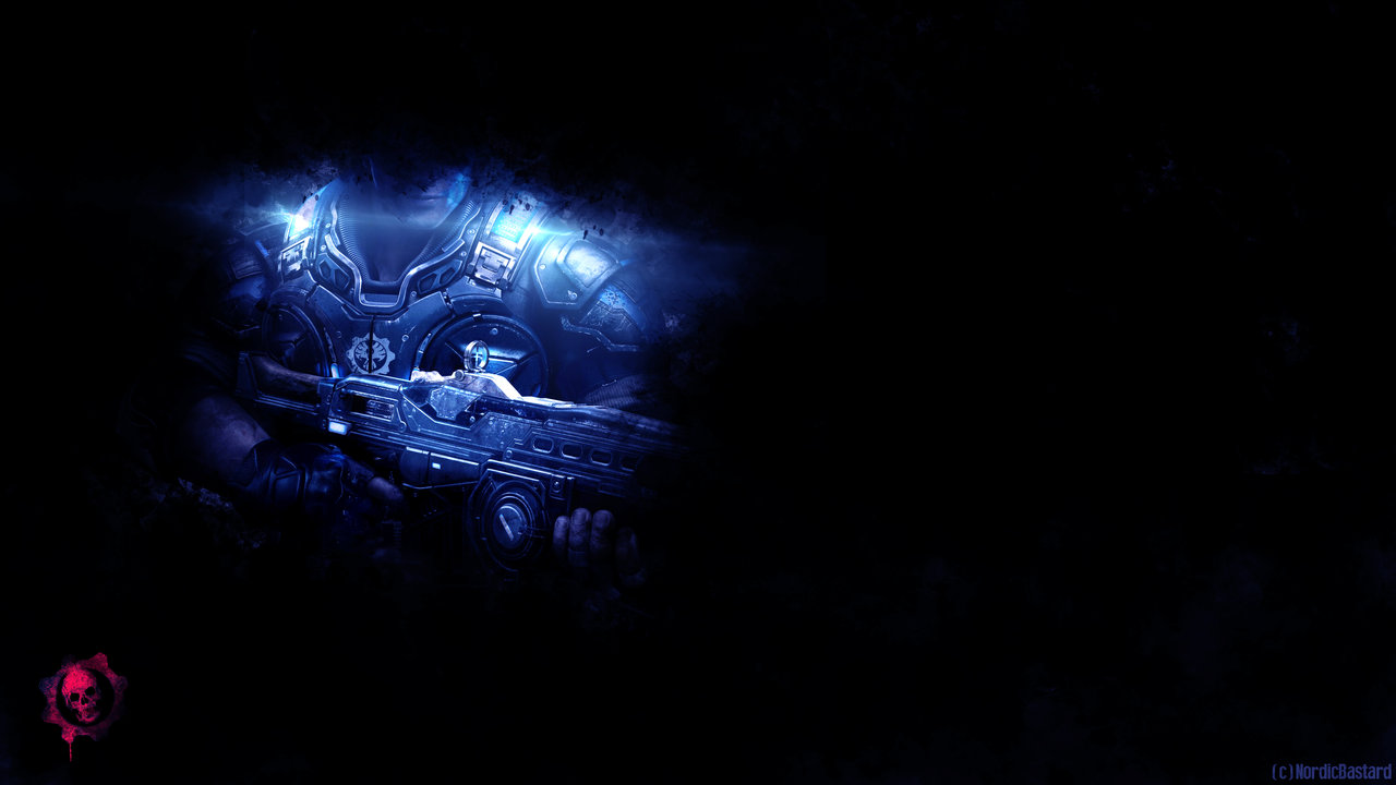 Free Download Gears Of War K Wallpaper Free K Wallpaper - Gears Of War Blue - HD Wallpaper