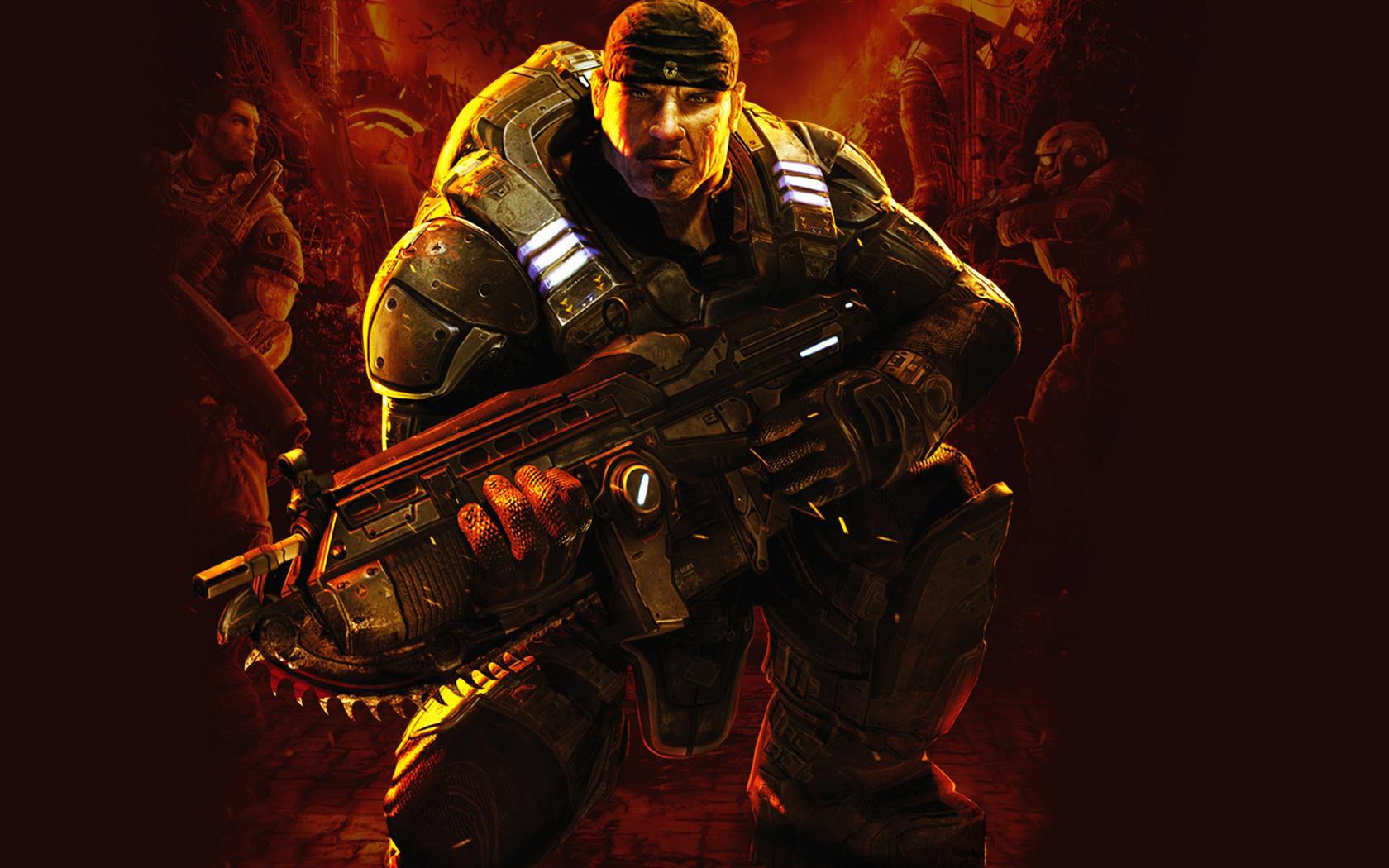 Gears Of War Wallpaper - HD Wallpaper