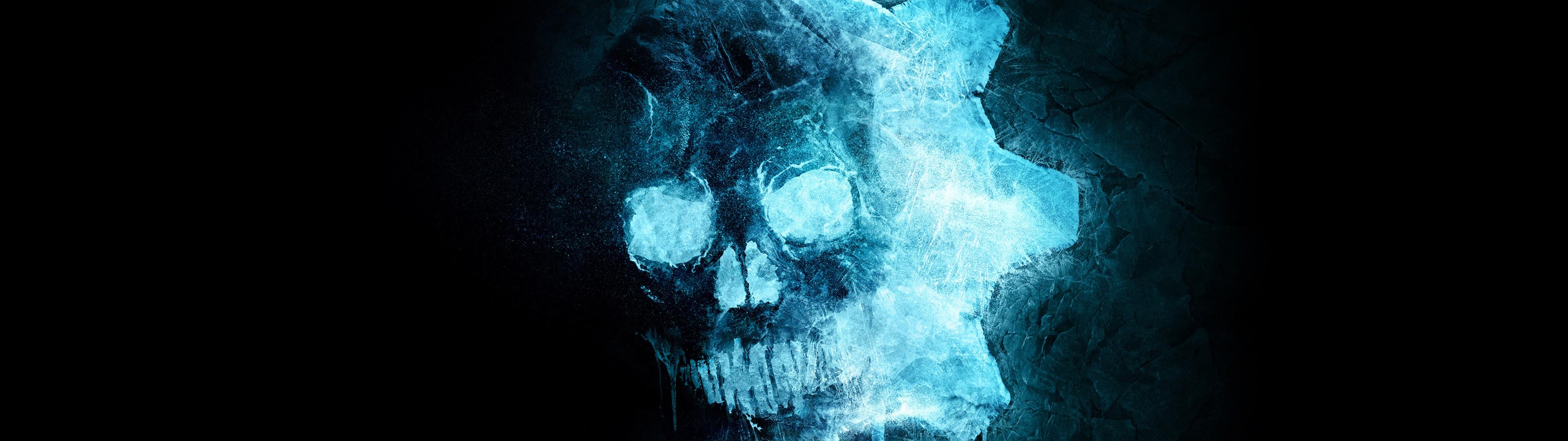 Gears 5, Skull, Logo, 4k, - Gears 5 Ice Omen - HD Wallpaper