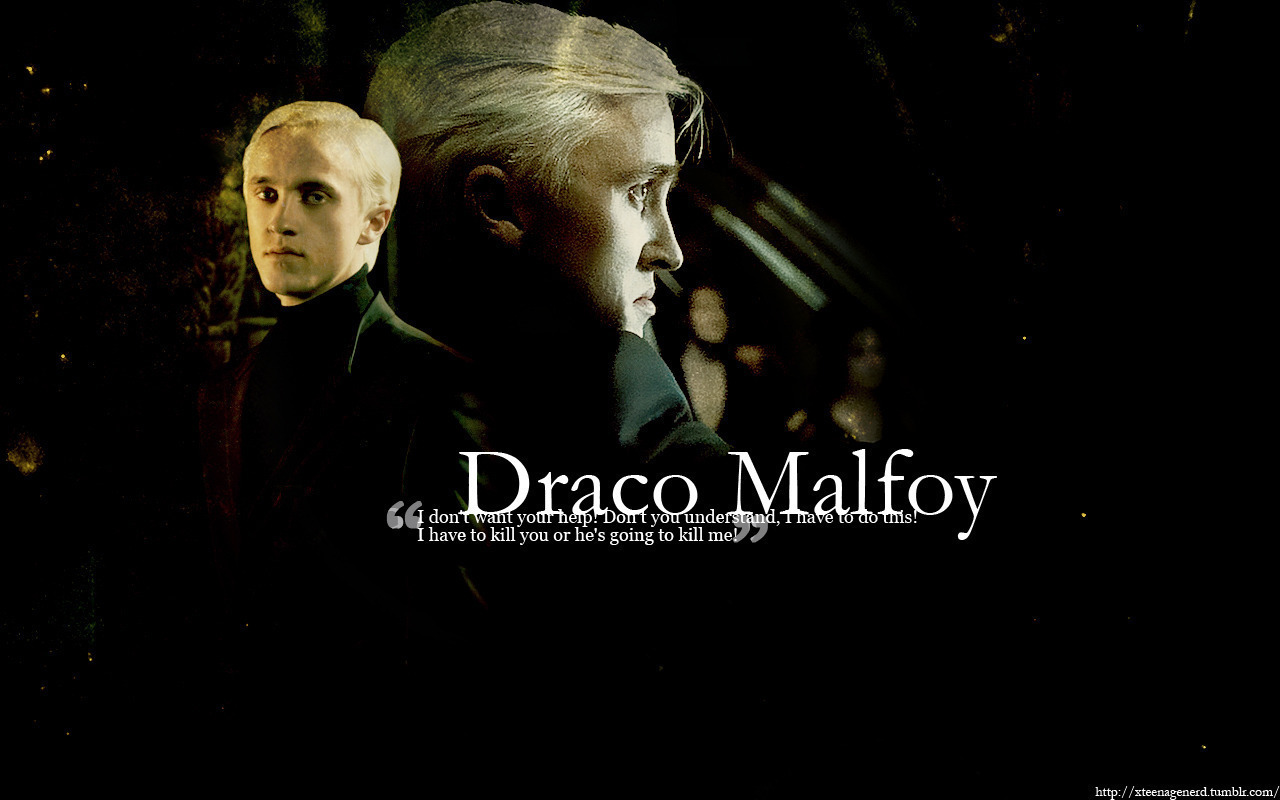 Draco<3 - Harry Potter Quote Draco Malfoy - HD Wallpaper