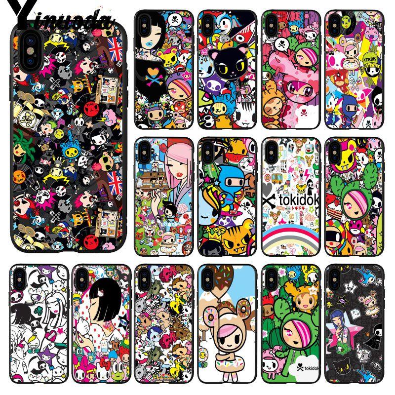 Yinuoda Japan Tokidoki Japanese Smart Cover Black Soft - Cartoon - HD Wallpaper