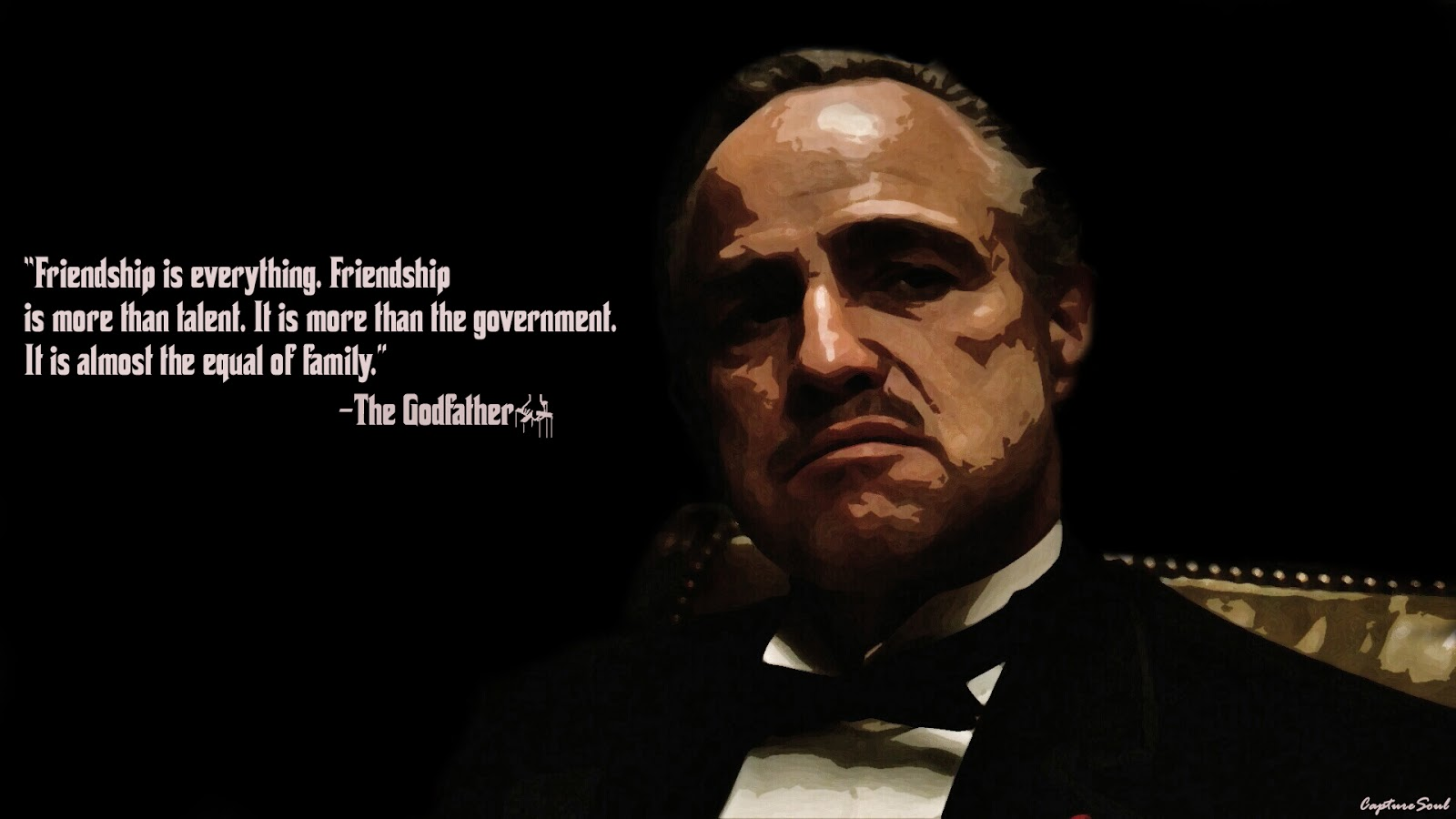 The Godfather - HD Wallpaper
