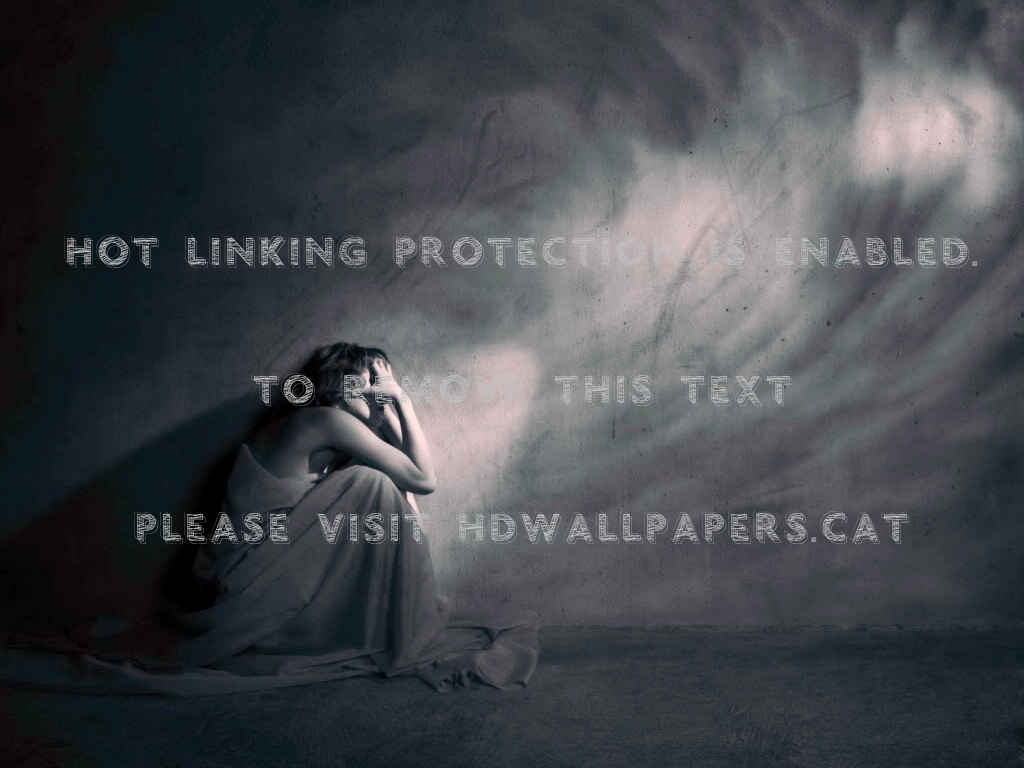 Depression Alone Depressed Sad Hopeless 3d - Alone Depressed Sad - HD Wallpaper