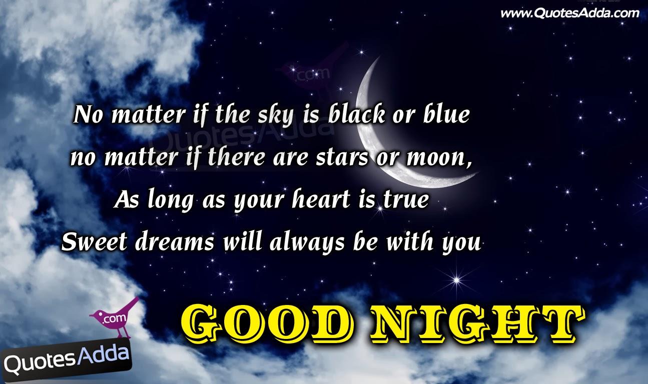 Moon Quotes, Beautiful Good Night Wallpapers, Good - HD Wallpaper