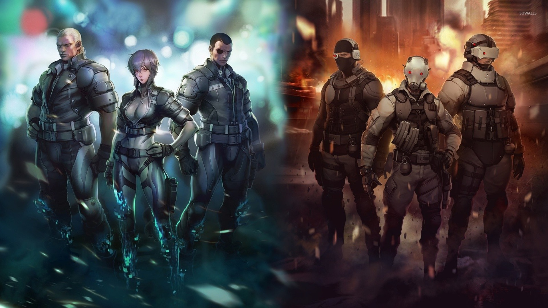 Ghost In The Shell Arise 1920x1080 Wallpaper Teahub Io