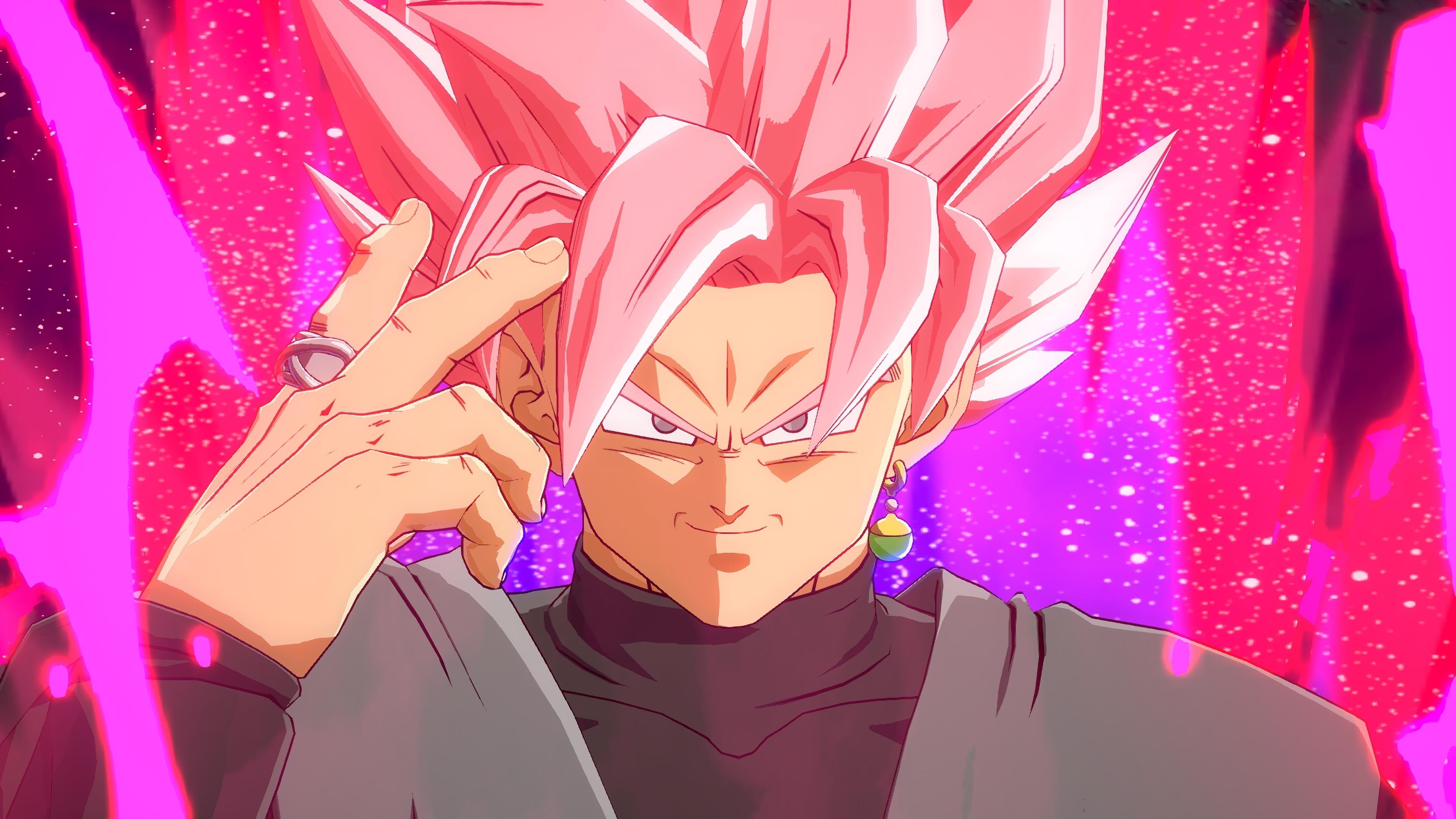 Artwork Black Goku Dragon Ball Super Wallpaper Dragonball Fighterz Goku Black 3840x2160 Wallpaper Teahub Io