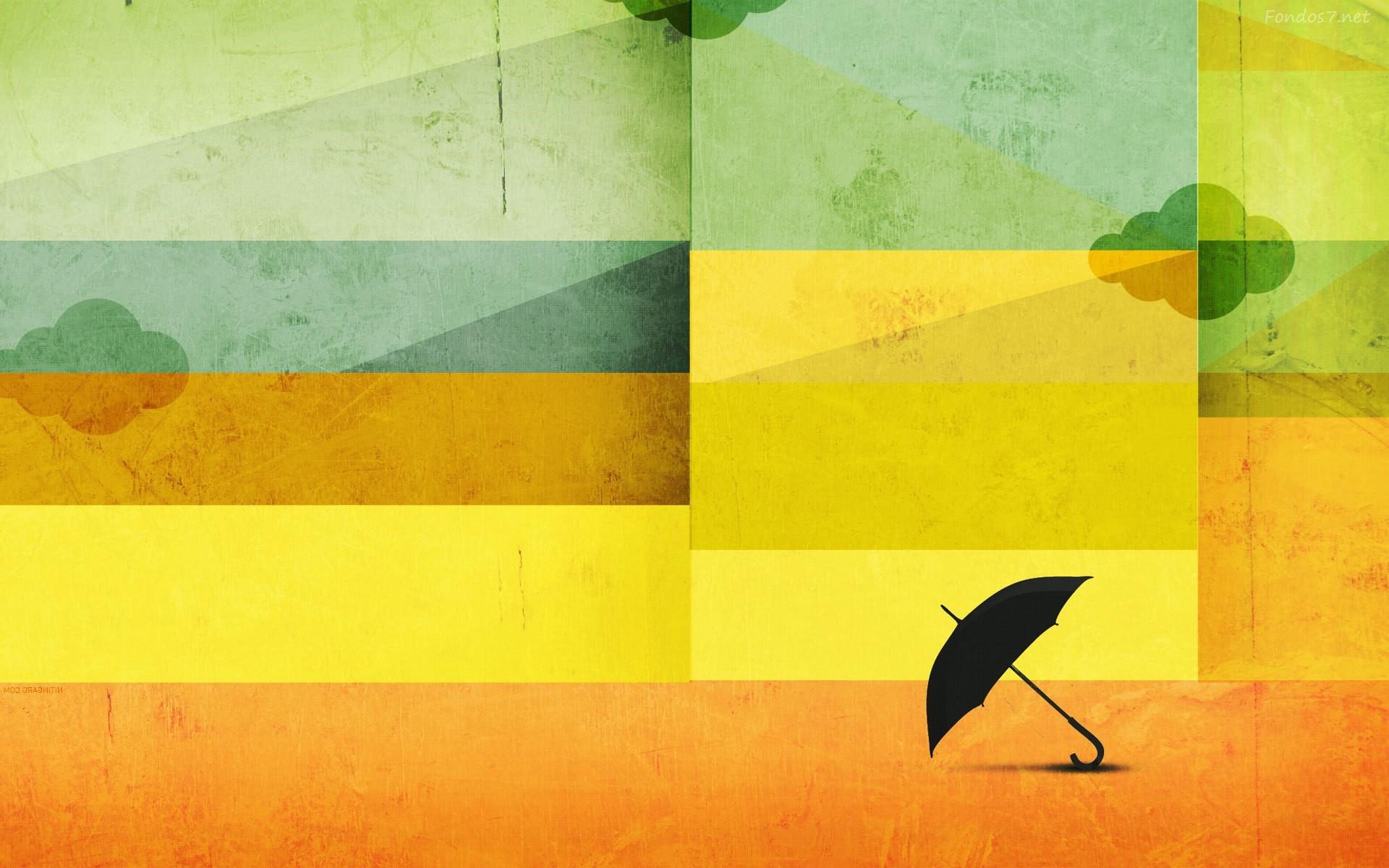 Umbrella Abstract - HD Wallpaper
