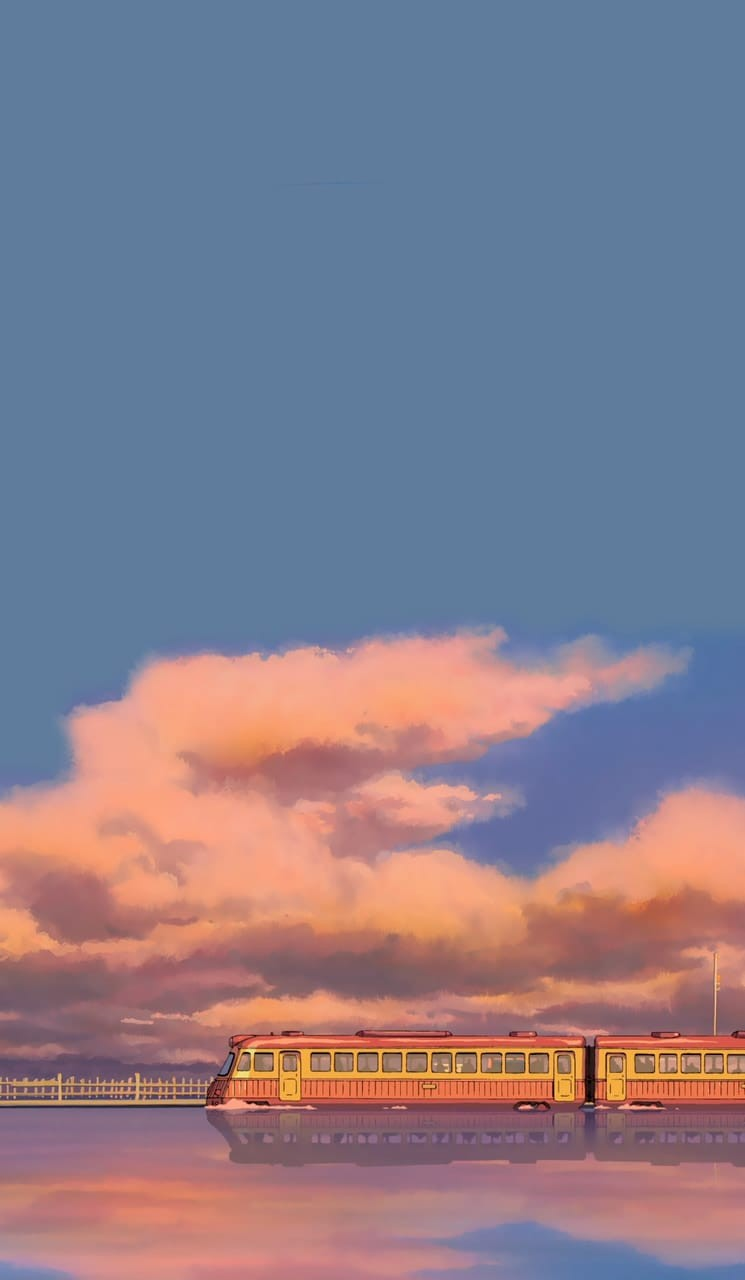 Anime Train And Wallpaper Image Spirited Away Wallpaper Phone 745x1280 Wallpaper Teahub Io