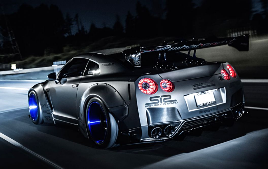 Nissan Gtr R35 Wallpaper Phone Nissan Gtr R35 Tuning 1056x668 Wallpaper Teahub Io