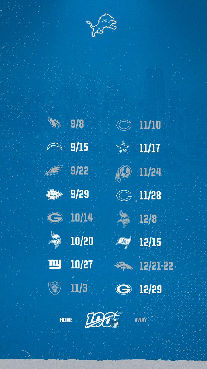 24+ Detroit Lions Phone Wallpaper PNG