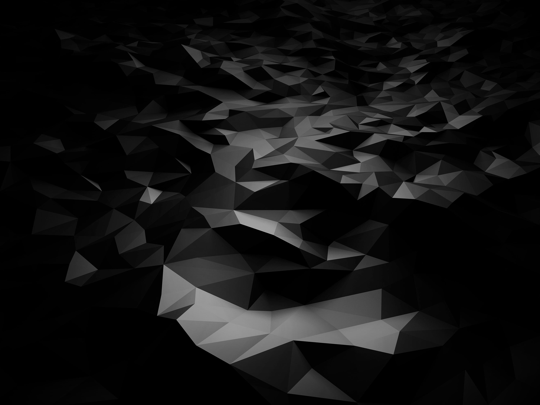 Dark Hd Abstract Art - HD Wallpaper