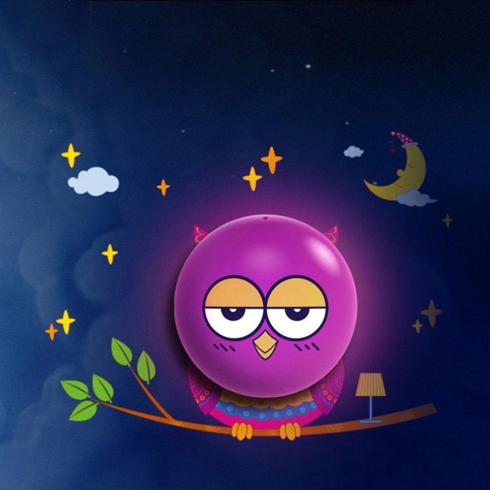 Hestian Kids Small Night Light Diy 3d Wallpaper Novelty - Kartun 3d - HD Wallpaper