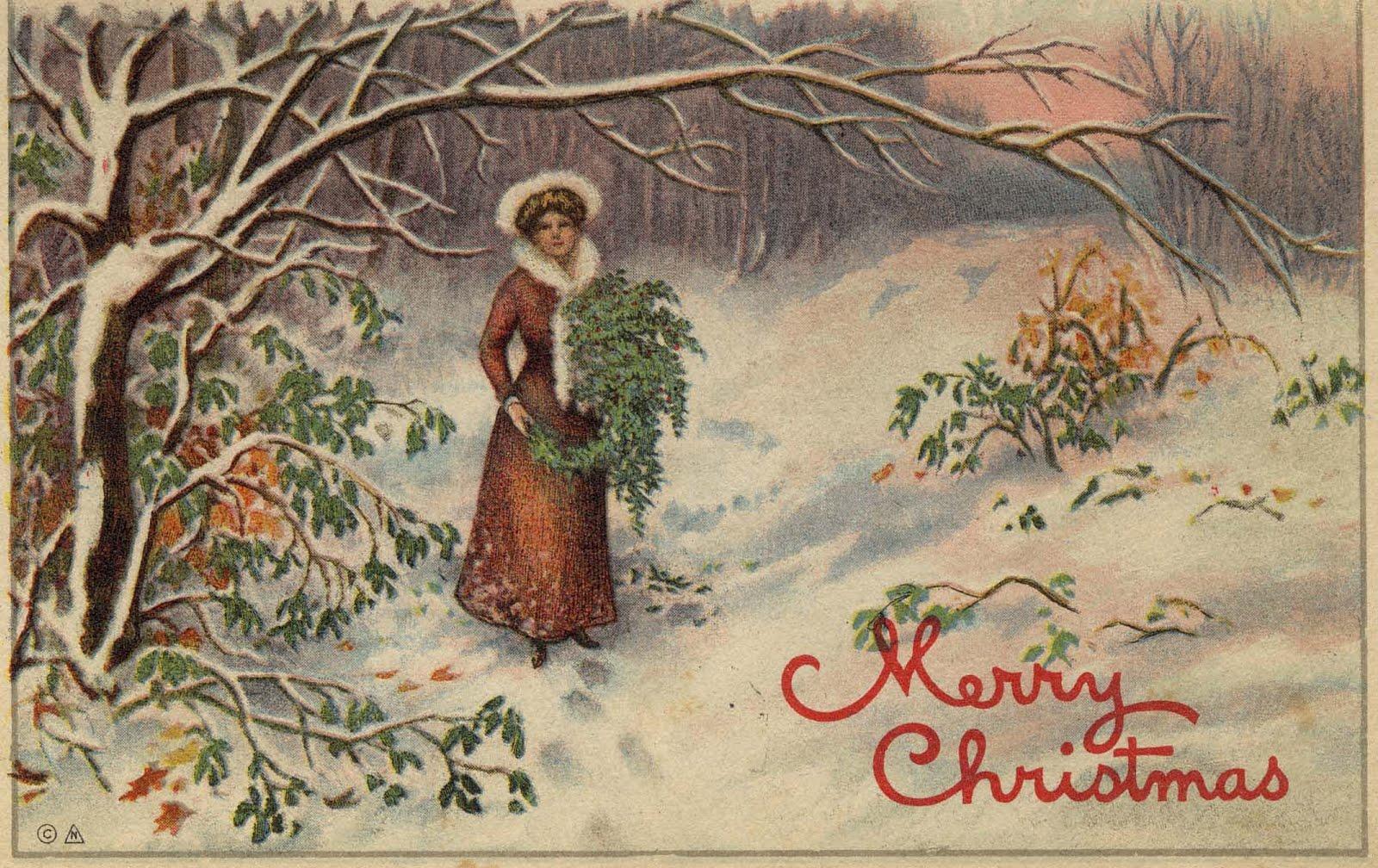 Merry Christmas Old Fashioned 1600x1008 Wallpaper Teahub Io