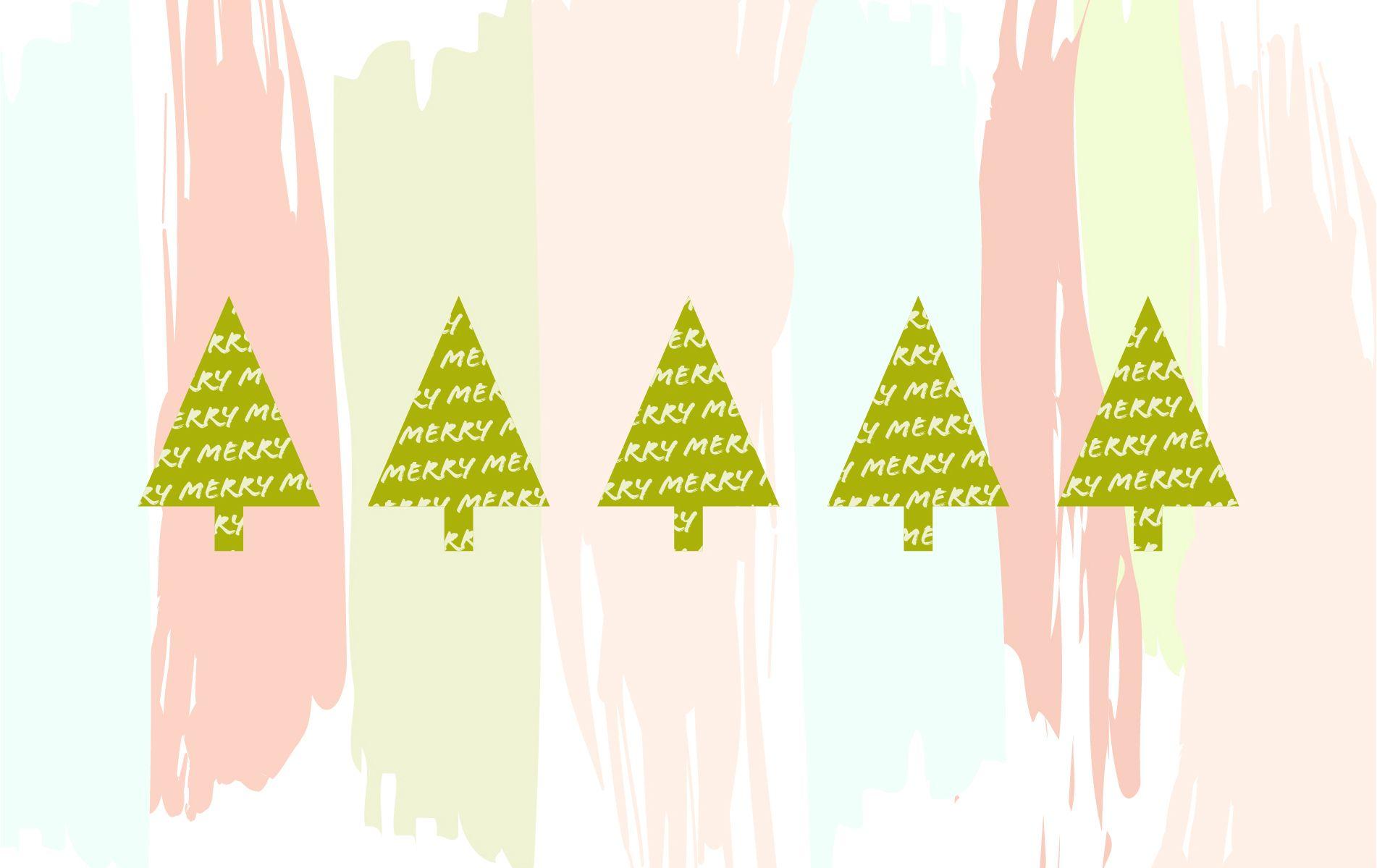 351 3510554 pastel christmas wallpaper desktop