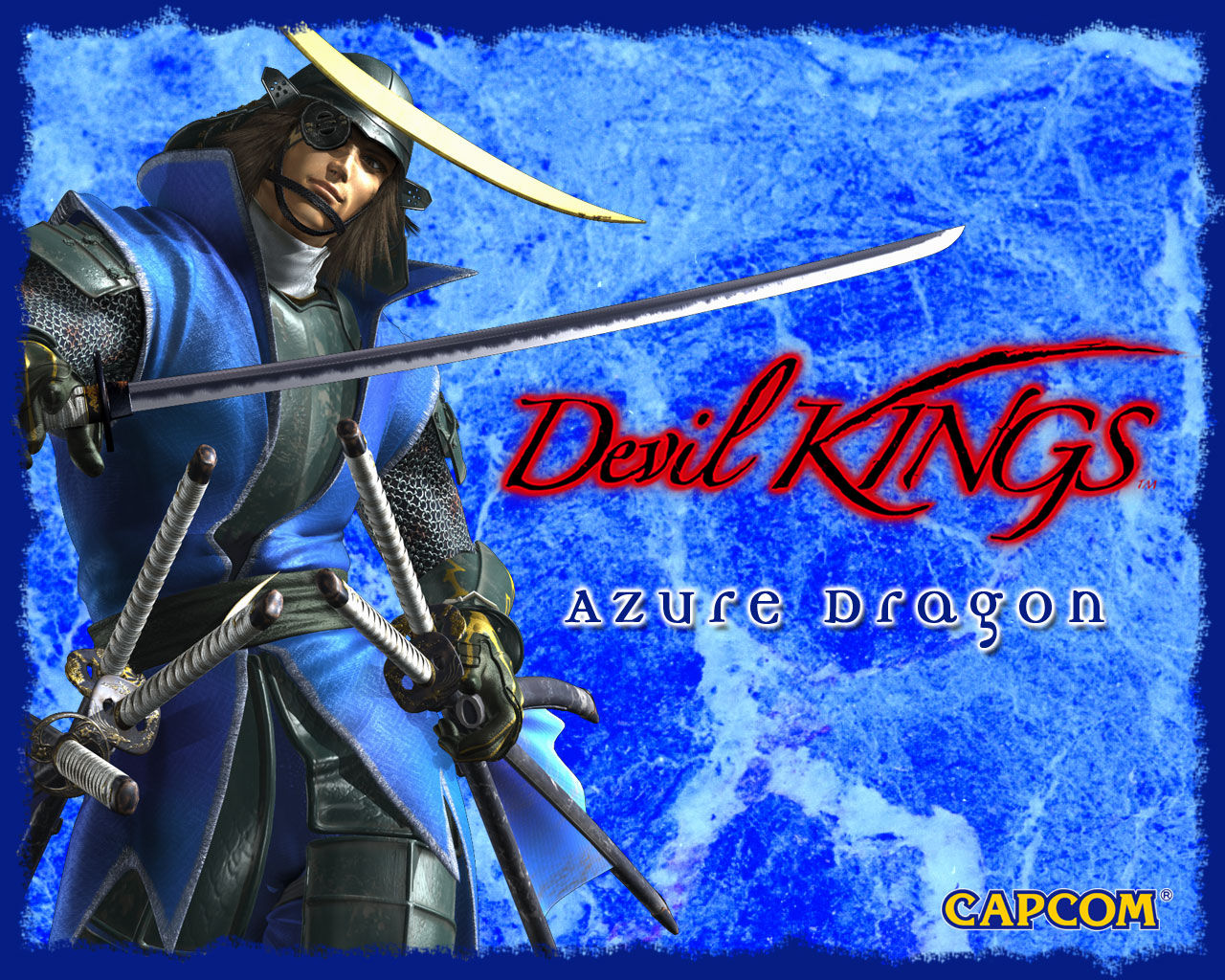 Devil Kings Azure Dragon - HD Wallpaper