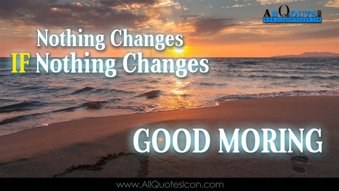 English Good Morning Quotes Wshes For Whatsapp Life - Sunset - HD Wallpaper