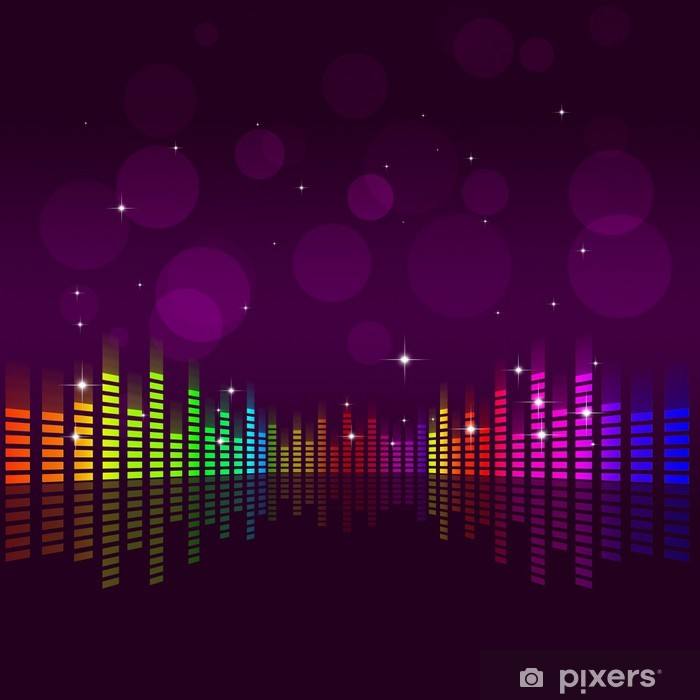 Music Equalizer Background - HD Wallpaper