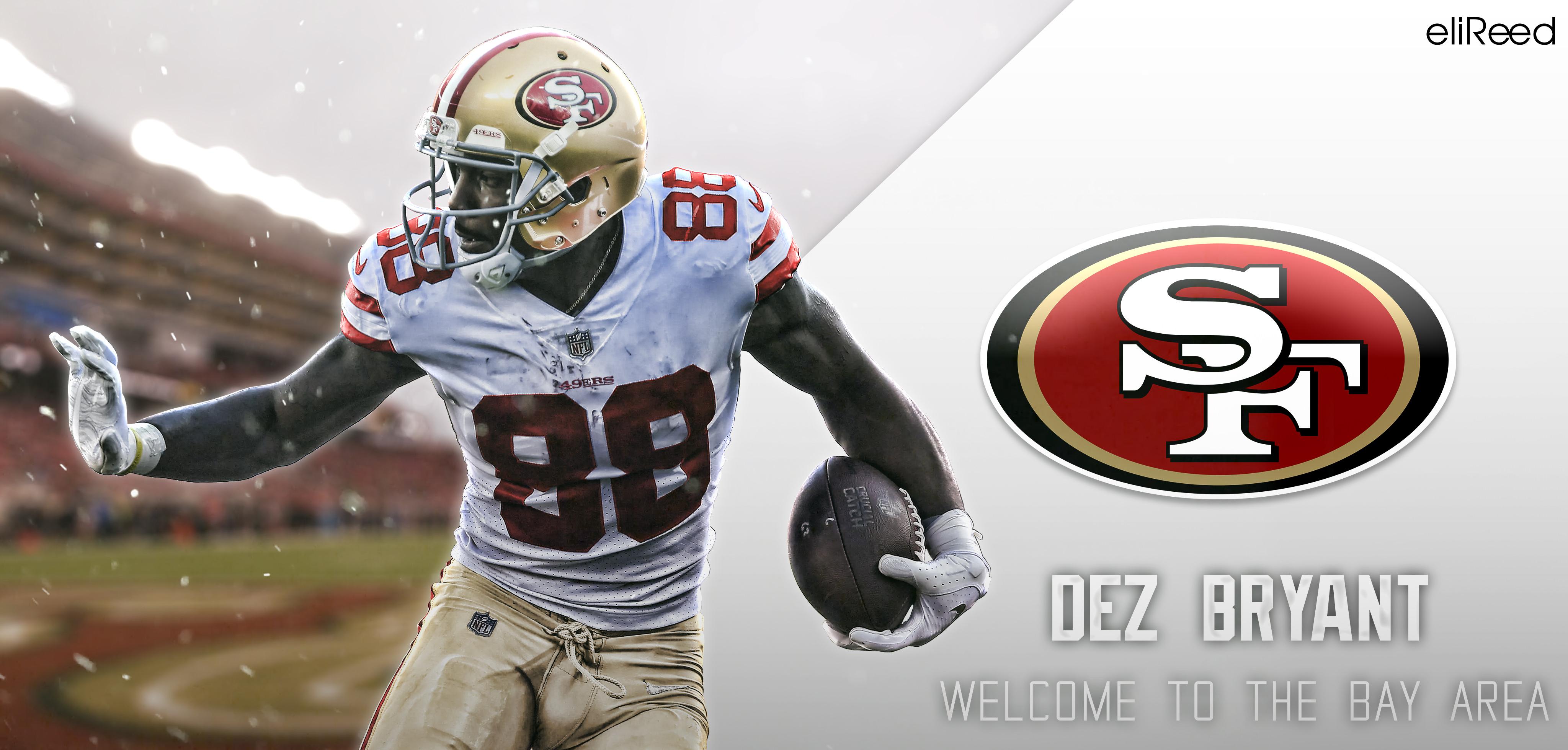 Dez Bryant 49ers Jersey - HD Wallpaper