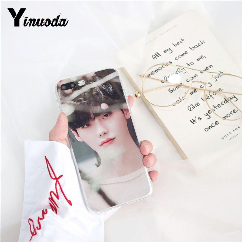 Yinuoda Star Lee Jong Suk Soft Rubber Black Phone Case - Tekashi 69 Signature - HD Wallpaper