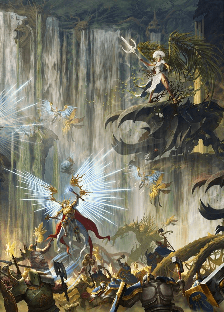 Mortal Realms Warhammer Age Of Sigmar - 737x1026 Wallpaper - teahub.io
