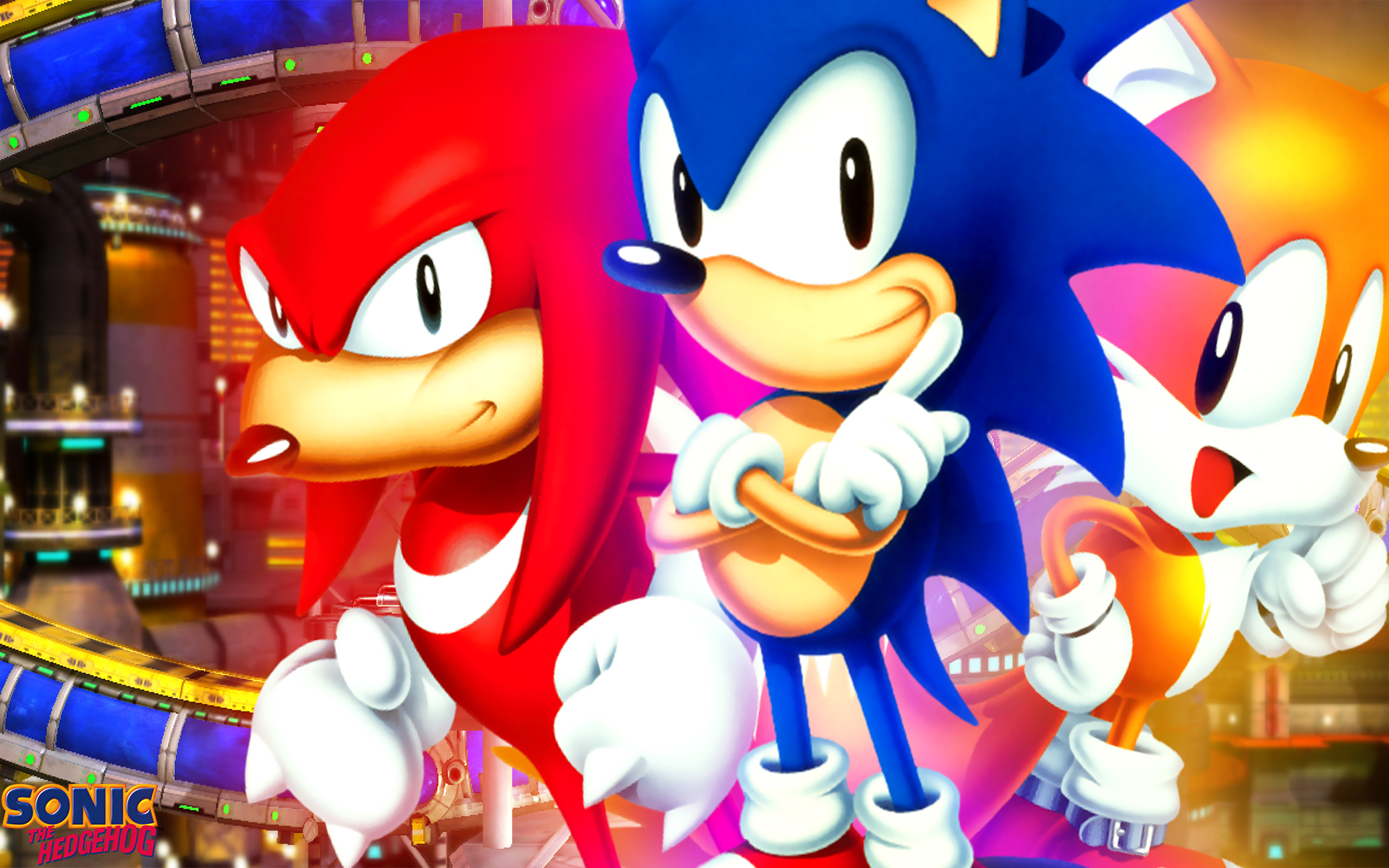 Classic Sonic Wallpaper Hd Classic Sonic The Hedgehog And Tails 1920x1200 Wallpaper Teahub Io