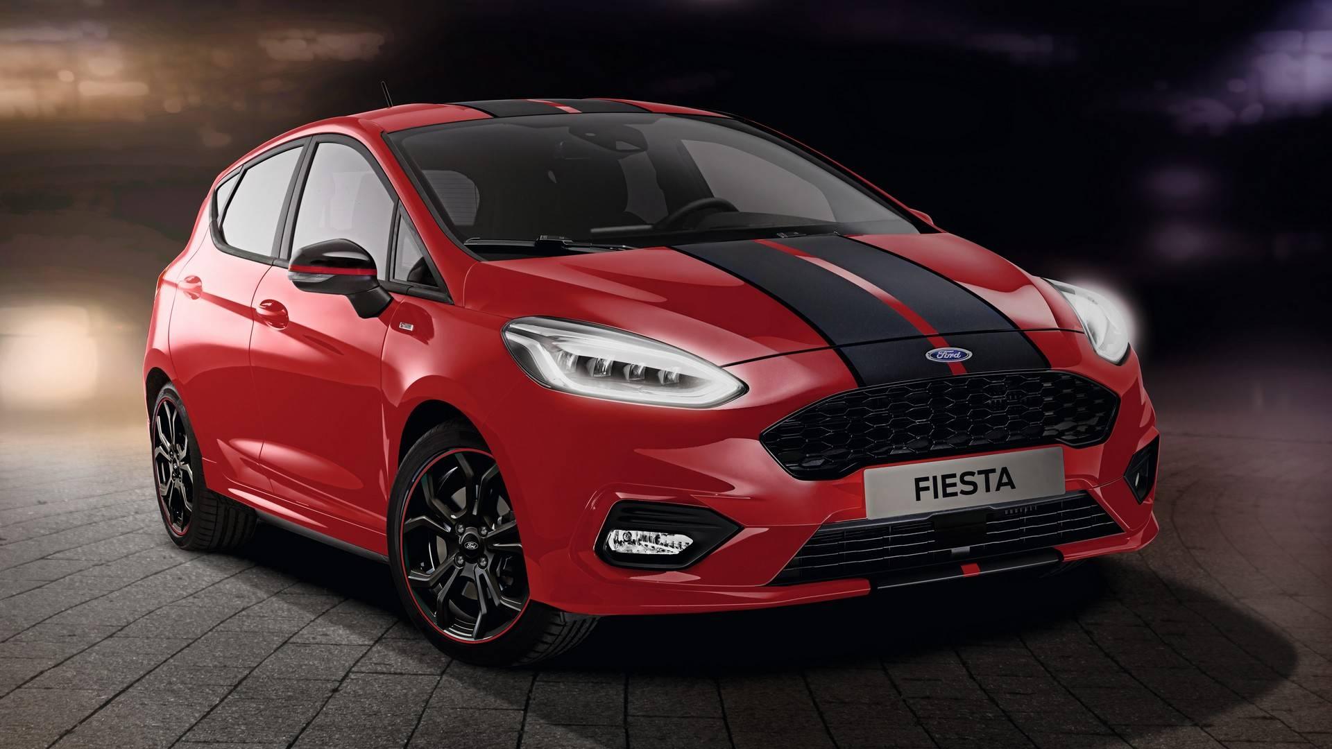 Ford Fiesta St Line X 2020 1920x1080 Wallpaper Teahub Io