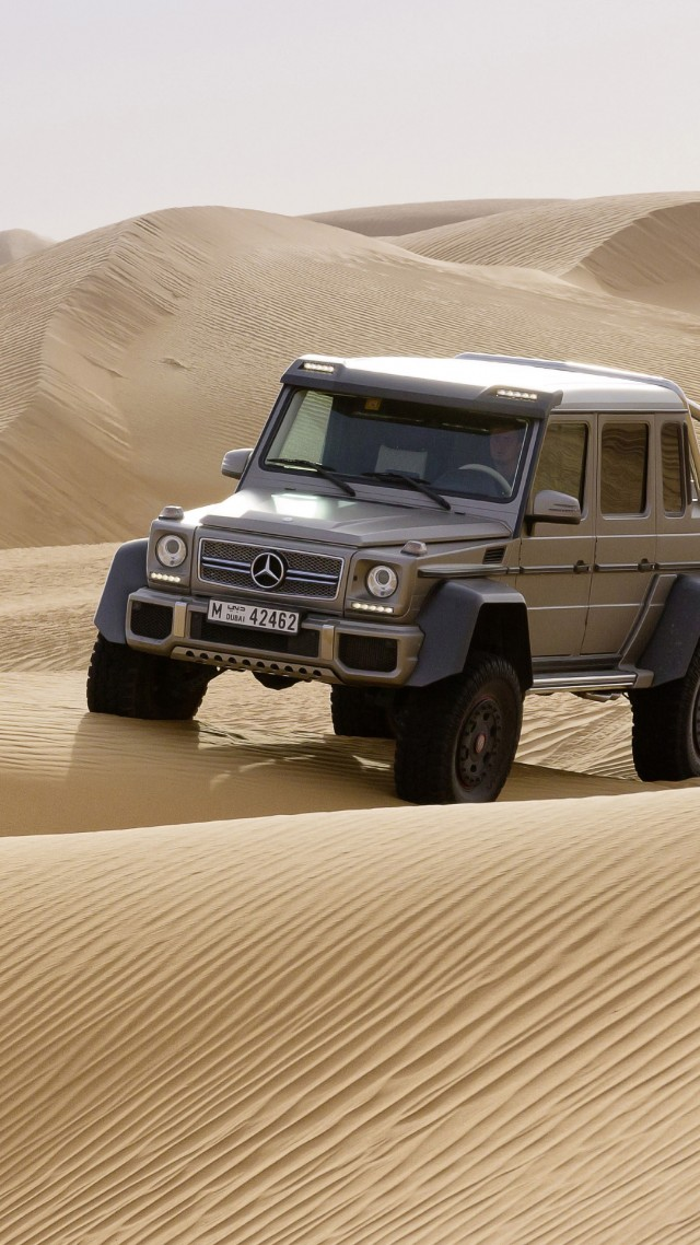 G Wagon In Desert 640x1138 Wallpaper Teahub Io