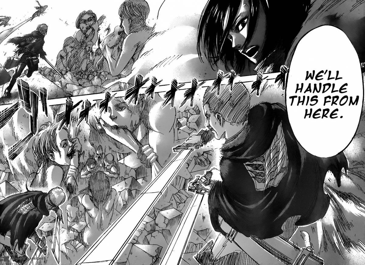 Shingeki No Kyojin Manga 27 Anime Wallpaper Shingeki No Kyojin Wallpaper Manga 1200x872 Wallpaper Teahub Io