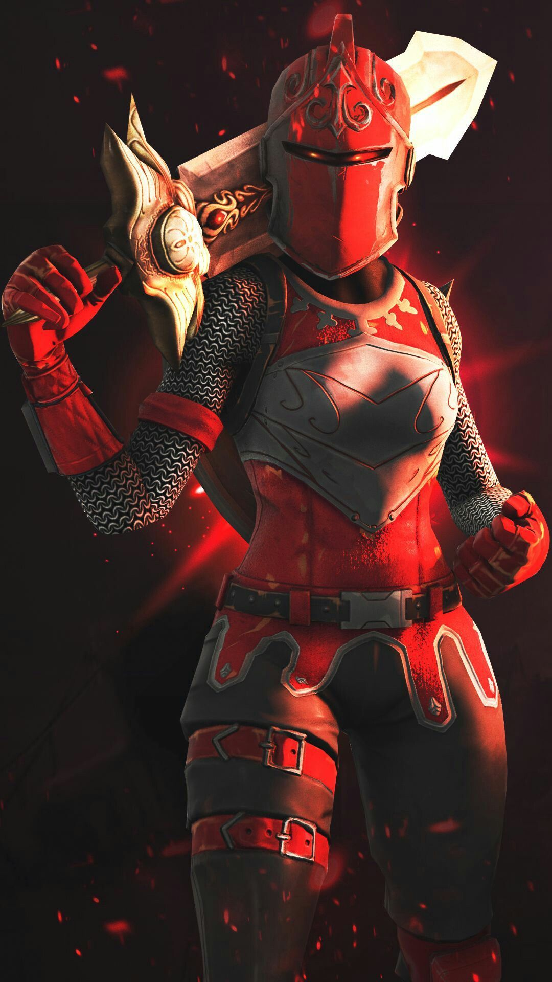 Fortnite Wallpaper Red Knight 1080x1920 Wallpaper Teahub Io