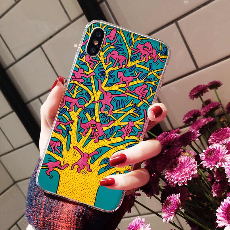 Maiyaca On Sell Phone Cases Simple Art Keith Haring - Mobile Phone - HD Wallpaper
