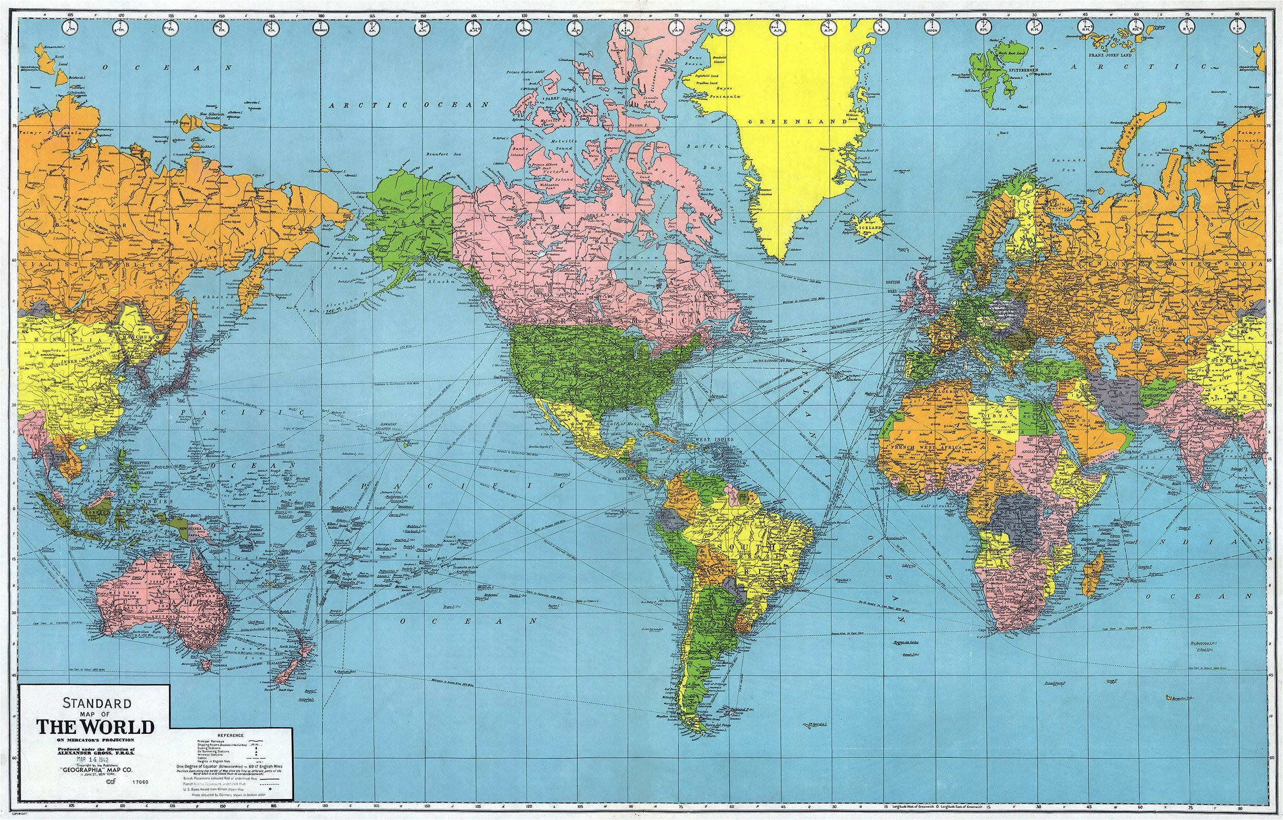 Picture of: Time World Map Longitude And Lattitude Fresh World World Map With Latitude And Longitude Hd 2500×1599 Wallpaper Teahub Io