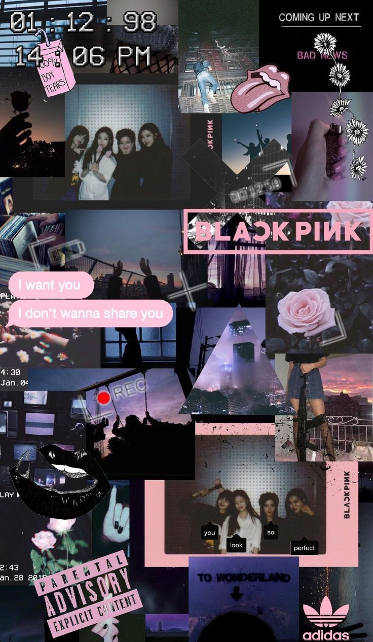 Blackpink Wallpaper Collage 736x1266 Wallpaper Teahub Io