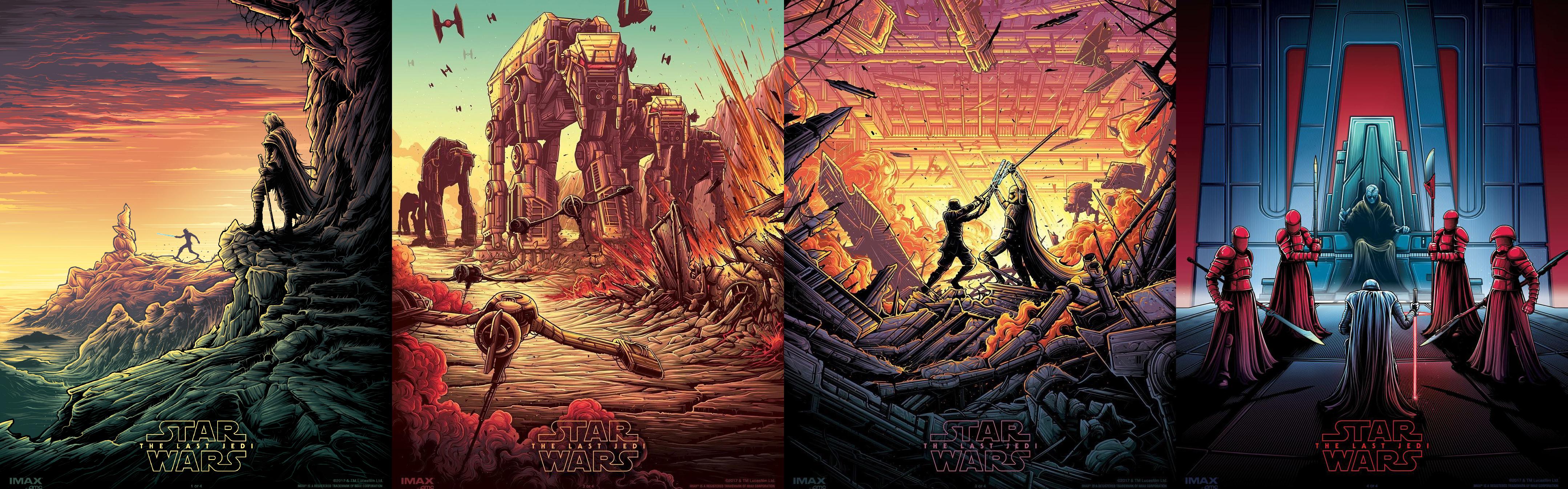 Last Jedi Imax Poster 4316x1346 Wallpaper Teahub Io